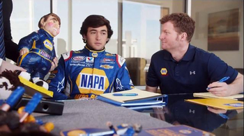 NAPA Auto Parts TV Spot, 'NASCAR Merchandising' Feat. Dale Earnhardt, Jr. - Thumbnail 8