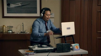 DIRECTV TV Spot, 'CableWorld: Hold Music' Featuring Marc Evan Jackson - Thumbnail 5