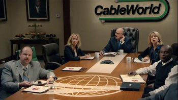 DIRECTV TV Spot, 'CableWorld: Hold Music' Featuring Marc Evan Jackson - Thumbnail 9
