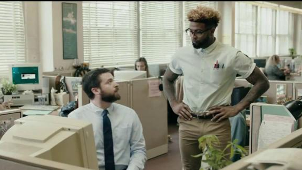 Fathead TV Commercial, 'Tech Help' Featuring Odell Beckham Jr.