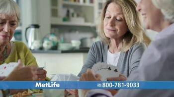 MetLife Guaranteed Acceptance Whole Life Insurance TV Spot, 'Bridge Club' - Thumbnail 1
