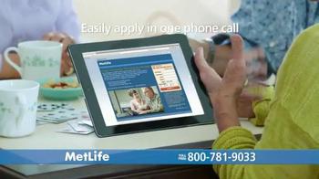 MetLife Guaranteed Acceptance Whole Life Insurance TV Spot, 'Bridge Club' - Thumbnail 8