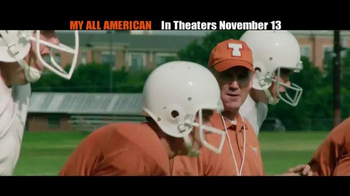My All American - Alternate Trailer 4
