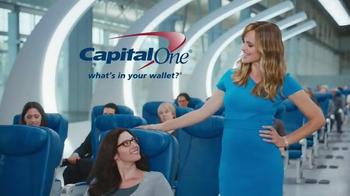 Capital One Venture TV Spot, 'Airline Seat Surprise' Feat. Jennifer Garner - Thumbnail 9