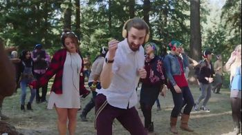 Android Google Play Music App TV Spot, 'Silent Disco Dancer' - 361 commercial airings