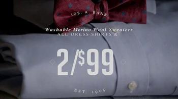 JoS. A. Bank Your Choice Sale TV Spot, 'Warmer Look' - Thumbnail 4