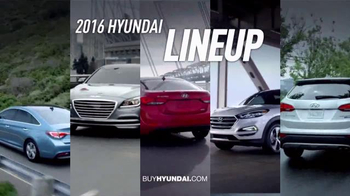 Hyundai TV Spot, 'Smart Life: 2016 Lineup'