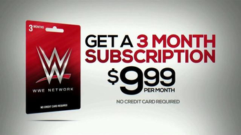WWE Network 3-Month Subscription Gift Card TV Spot, 'Family Entertainment' - Thumbnail 8
