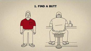 Duluth Trading Company LongTail T Shirt TV Spot, 'How to Un-Plumber a Butt'