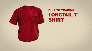 Duluth Trading Company LongTail T Shirt TV Spot, 'How to Un-Plumber a Butt' - Thumbnail 6