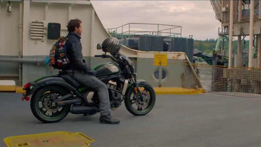 2016 kawasaki vulcan s cafe tv commercial my kind of ride feat alex chacon ispottv
