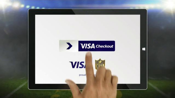 VISA Checkout TV Spot, 'Fumble: Larry's Ball' - Thumbnail 9