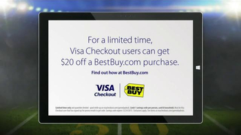 VISA Checkout TV Spot, 'Fumble: Larry's Ball' - Thumbnail 8