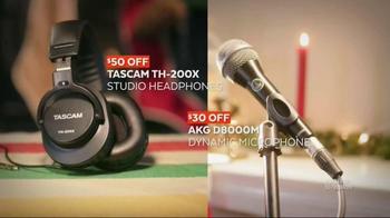 Guitar Center Black Friday TV Spot, 'Headphones, Mics & Speakers' - Thumbnail 3