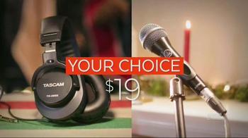 Guitar Center Black Friday TV Spot, 'Headphones, Mics & Speakers' - Thumbnail 4