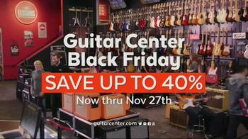 Guitar Center Black Friday TV Spot, 'Headphones, Mics & Speakers' - Thumbnail 7