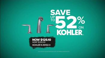 Build.com TV Spot, 'Black Friday Deals: Kohler Faucets'