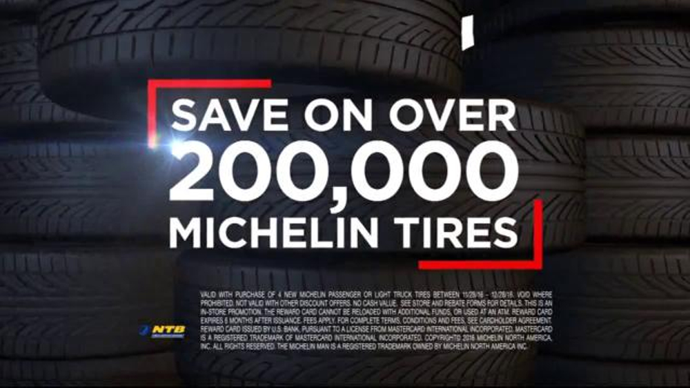 National Tire & Battery TV Commercial, 'Oil Changes and Michelin Tires'
