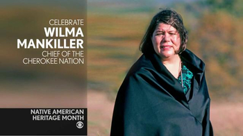 CBS Cares TV Spot, 'Cheryl Crazy Bull on Wilma Mankiller'