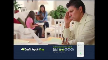 Credit Repair Pros TV Spot, 'Address Unfairly Reported Items' - 2254 commercial airings
