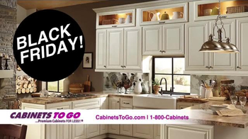 Cabinets To Go Black Friday Kitchen Event TV Spot, 'Limited Time Only'