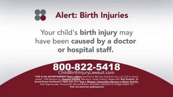 Sokolove Law TV Spot, 'Medical Alert: Birth Injuries'