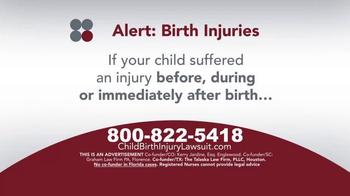 Sokolove Law TV Spot, 'Medical Alert: Birth Injuries' - Thumbnail 4