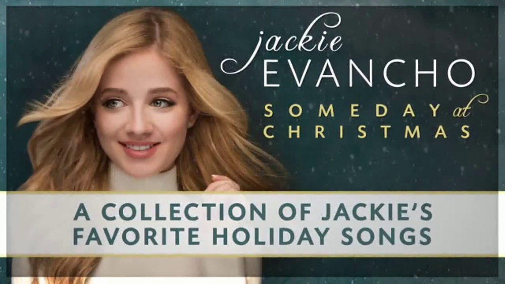 Jackie Evancho Someday At Christmas.Jackie Evancho Someday At Christmas Tv Commercial Video