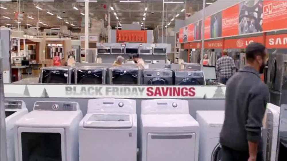 The Home Depot Black Friday Savings TV Commercial, 'Make it Count'