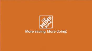 The Home Depot Black Friday Savings TV Spot, 'Make it Count' - Thumbnail 8