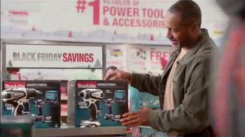 The Home Depot Black Friday Savings TV Spot, 'Make it Count' - Thumbnail 2