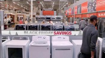 The Home Depot Black Friday Savings TV Spot, 'Make it Count' - Thumbnail 3