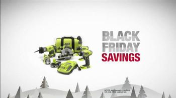 The Home Depot Black Friday Savings TV Spot, 'Make it Count' - Thumbnail 6