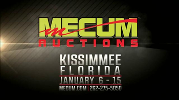 Mecum Auctions TV Spot, 'The Largest Collector Car Auction in the World' - Thumbnail 9