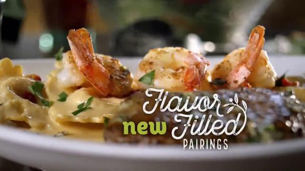 Olive Garden FlavorFilled Pairings TV Commercial, 'Happiness and Cheer'