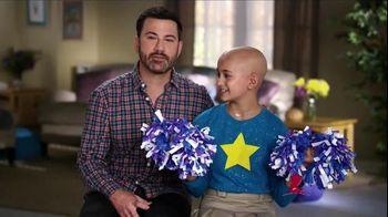 St. Jude Children's Research Hospital TV Spot, 'Thanks' Ft. Jimmy Kimmel - 132 commercial airings