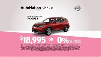 AutoNation Sales Drive TV Spot, 'Time Out: 2016 Nissan Rogue S' - Thumbnail 4
