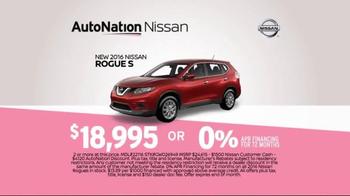 AutoNation Sales Drive TV Spot, 'Time Out: 2016 Nissan Rogue S' - Thumbnail 5