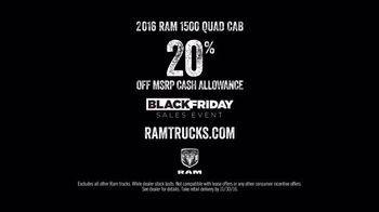 Ram Trucks Black Friday Sales Event TV Spot, 'Light Up the Holidays: Quad' - 2147 commercial airings