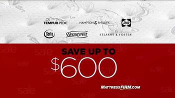 Mattress Firm Thanksavings Sale TV Spot, 'Weekend Savings' - Thumbnail 1