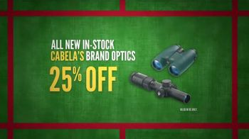Cabela's Black Friday Weekend Sale TV Spot, 'Footwear and Optics' - 30 commercial airings