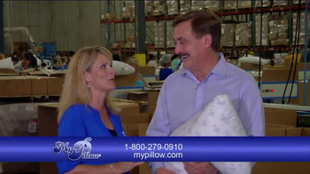 My Pillow TV Spot, 'Welcome to the Factory' Featuring Jann Carl