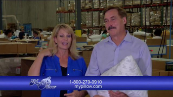 My Pillow TV Spot, 'Welcome to the Factory' Featuring Jann Carl - Thumbnail 3
