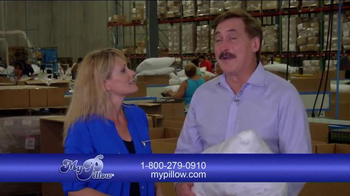 My Pillow TV Spot, 'Welcome to the Factory' Featuring Jann Carl - Thumbnail 4
