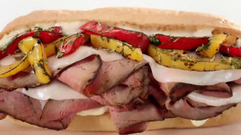 Arby's Fire-Roasted Philly Sandwich TV Spot, 'Fresh' - 3976 commercial airings