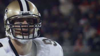 NFL Shop TV Spot, 'Chicago in January: Holiday Discount' Feat. Drew Brees - Thumbnail 4