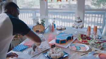 NFL TV Spot, 'Football Is Family: Super Bowl 50 Baby Shower' - Thumbnail 2