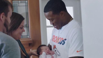 NFL TV Spot, 'Football Is Family: Super Bowl 50 Baby Shower' - Thumbnail 4