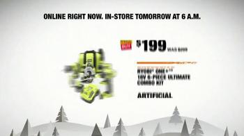 The Home Depot Black Friday Savings TV Spot, 'Online' - Thumbnail 5