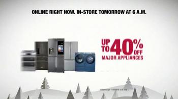The Home Depot Black Friday Savings TV Spot, 'Online' - Thumbnail 6